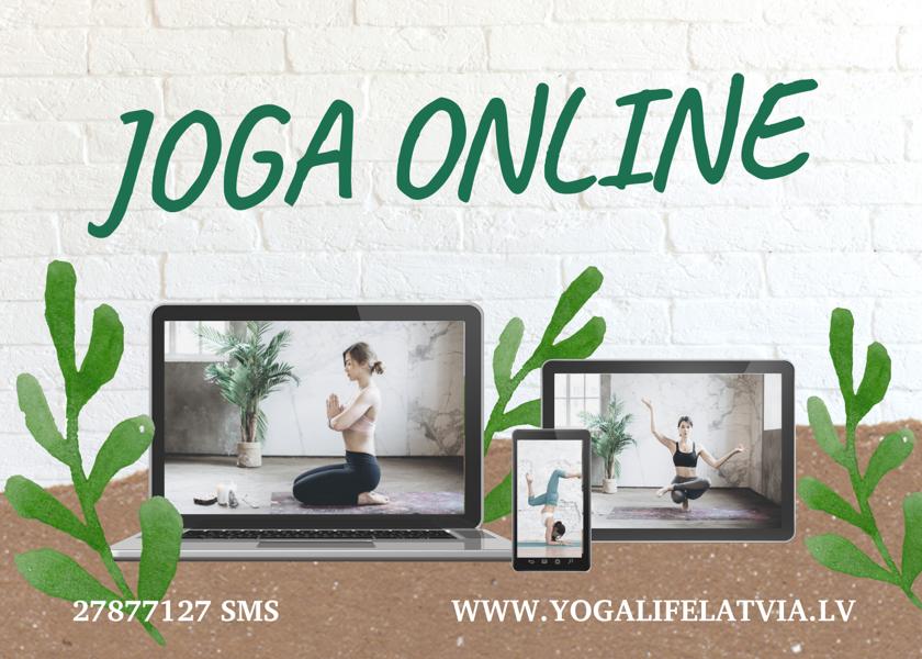 Jogas nodarbība + Sejas joga I